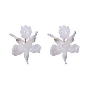 Never worn Lele Sadoughi Small Lily Earrings